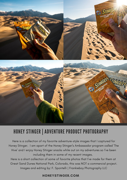 Honey Stinger 'The Hive' Ambassador Program | Outdoor Product Photography