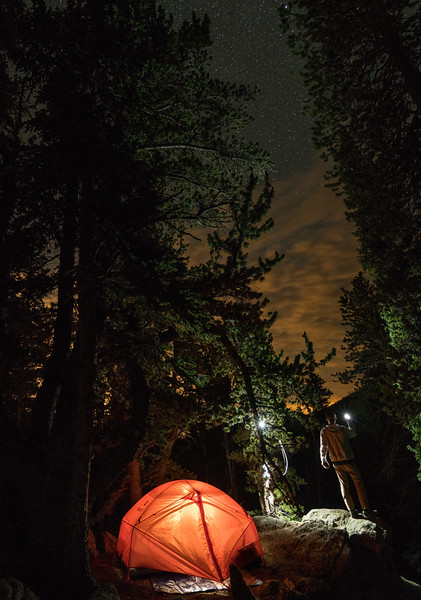 Tips for capturing low light tent glow shots