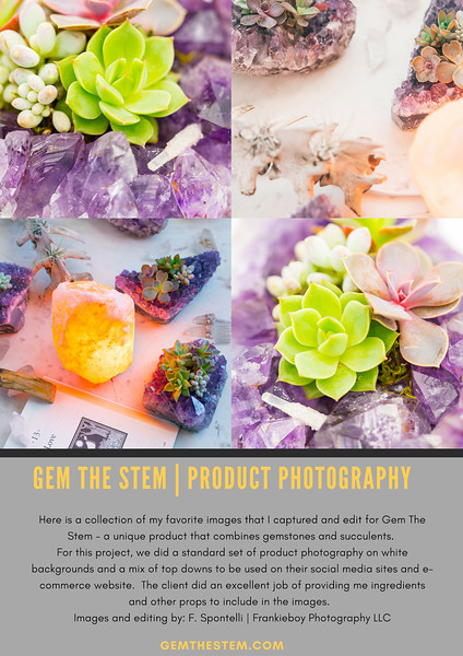 Gem The Stem  | Lifestyle and Product Photography