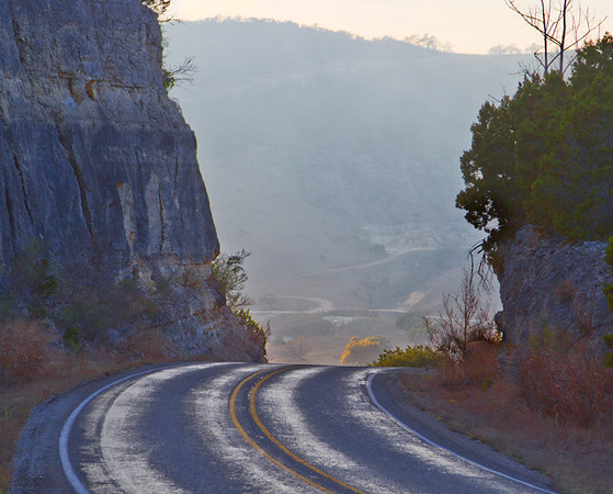 I heard that Hwy. 337 southwest of Kerrville was scenic so I took a day trip to explore – it was!  February, 2016.