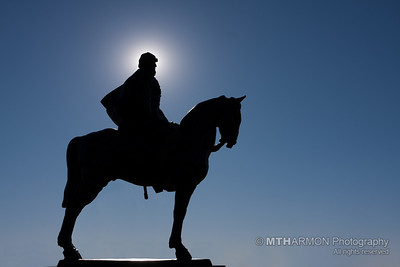 "Statue of ""Stonewall"" Jackson at Manassas National Battlefield (Manassas, VA)"