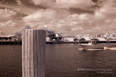 Intracostal Waterway, Infrared (Pompano Beach, FL)