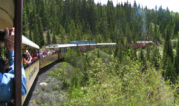 This year my siblings met at the Deleware Hotel in Leadville, CO, on Independence Day weekend. We visited the Healy Museum, took this train ride, attended the Molly Brown ballet at the Opera House, spent time with Pohlman cousins, saw the 4th of July Parade, took in the Matchless Mine, drove around Turquoise Lake, and watched the fireworks. Busy and fun! July, 2011.