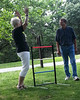 The primary reason for the trip from cool MT to hot NE/IA was the family reunion organized by Claudia at Waubonsie State Park, IA. We had 2 and a half days of food, sharing, and games, including ladder golf being played here with my brother, Walter. Photo by Arin. July, 2013.