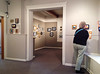 Barbara and I viewed the miniatures exhibit at the Foothills Art Center in Golden after seeing the National Watercolor Show there, too.  For this exhibit a miniature is a work no larger than 35 sq. in. October, 2014.