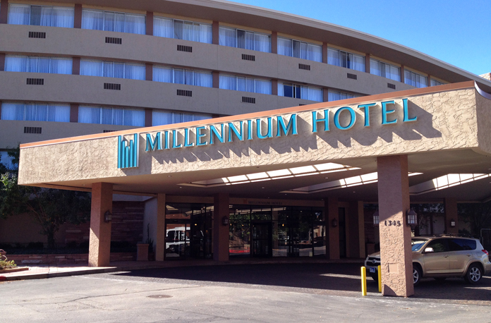 This is where we met for our weekend in Boulder. It was a wanna-be luxury hotel, I think. September, 2014.