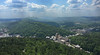 We siblings met for the weekend in Hot Springs, AR this year.  This view of the city is from the Mountain Tower in the park.  The historic Arlington Hotel is in the lower center near the taller building.  May, 2015.