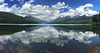 I discovered a new lake, to me, on our visit to Polebridge --- Bowman Lake.  It is off the beaten path, but still accessible by car. Return visit coming up!  May, 2015.
