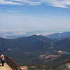 The first thing we did was take the cog train to the top of Pikes Peak.  Even though we took the noon train, it was still hovering around freezing at just over 14,000 feet.  Very interesting trip.  June, 2017.