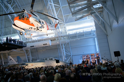 Restored US Coast Guard Helicopter Dedicated at the Smithsonian