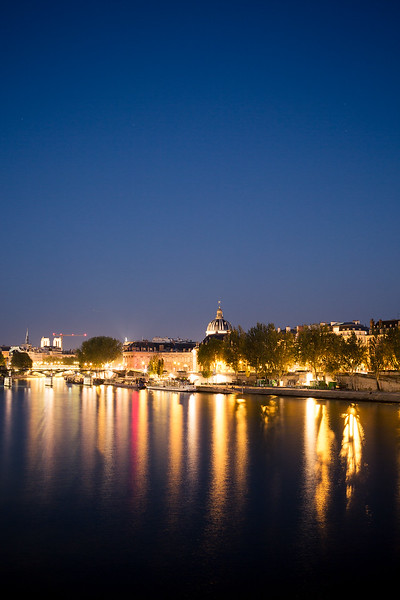 Evening Lights in Paris