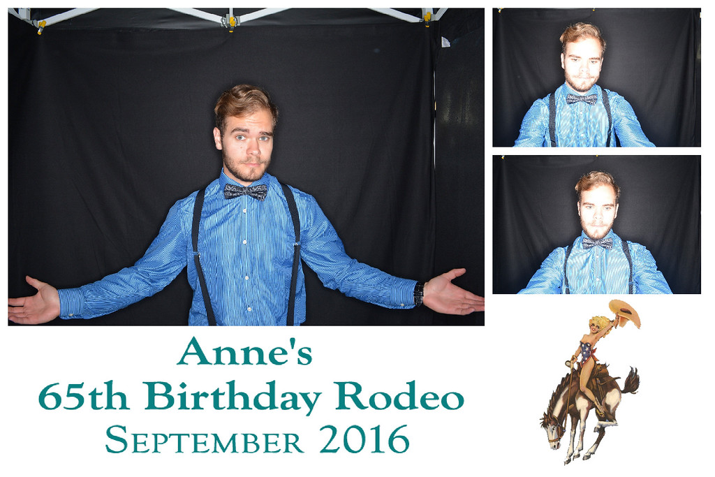 Anne's 65th Birthday Rodeo on September 4th, 2016 in Santa Barbara, California.