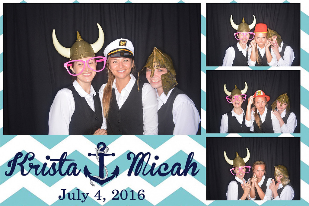 Krista and Micah's wedding on July 4th, 2016 on the Scarlett Bell in Oxnard, California.