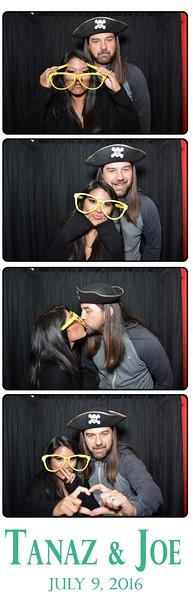 ThoughtBox Photo Booth celebrates Tanza and Joe's wedding on July 9th, 2016 at Rincon Beach Club in Santa Barbara, California.