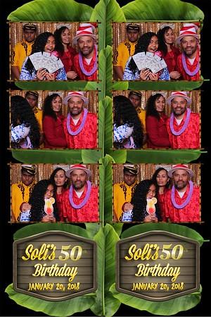 soli's 50th birthday