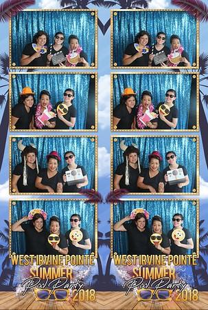 Irvine Pool Party 7-14-18