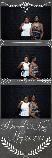Demond & Kia Wedding Photo Booth