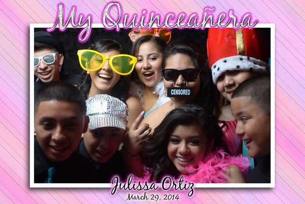 Julissa 15's Photo Booth