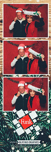 Happy Holidays from Funk/Levis!  Want to bring the Blue Bus Creatives photo booth experience to your next event? Visit www.bluebuscreatives.com for more info!