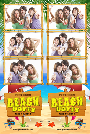 Beach Bash Strips