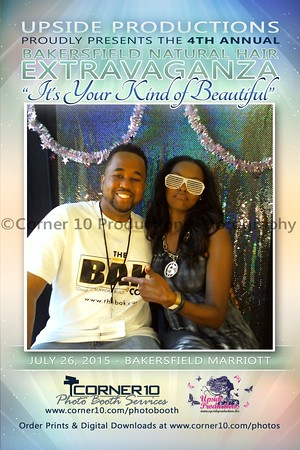 Corner 10 Photo Booth Services at the 4th Annual Bakersfield Hair Extravaganza