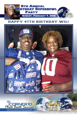 6th Annual Birthday Superbowl Party