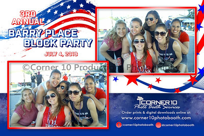 3rd Annual Barry Place Block Party