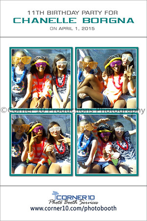 Corner 10 Photo Booth at Chanelle Borgna's Party