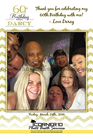 Darcy's 60th Birthday Party