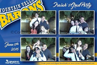 Isaiah's Grad Party