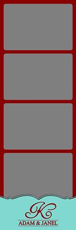Monogram - 2x6 - 4 Photo - Portrait