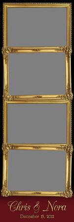 Ornamental Gold - 2x6 - 4 Photo - Portrait