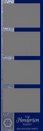 Winter Shimmer - Silver Foil - 2x6 - 4 Photo - Portrait