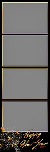 Auld Lang Syne - 2x6 - 4 Photo - Portrait