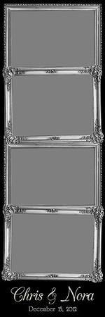 Ornamental Silver - 2x6 -4 Photo - Portrait