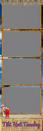 Tiki Tuesday - 2x6 - 4 Photo - Portrait