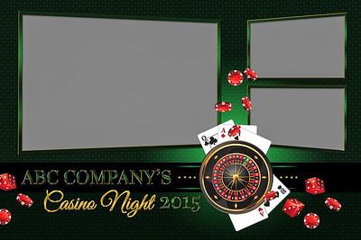 Casino Night - 4x6 - 3 Photo - Landscape