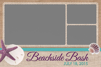 Beachside Bash - 4x6 - 3 Photo - Landscape