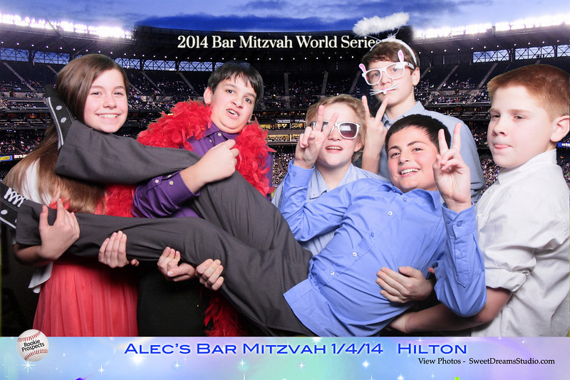 Video Montage Alec's Bar Mitzvah Party Photo Booth Entertainment NJ NY Worldwide