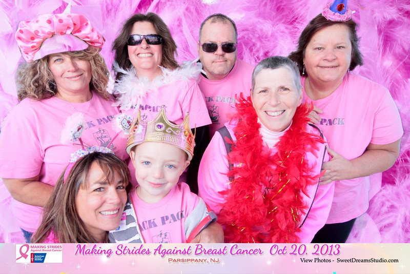 photography booth making strides against breast cancer