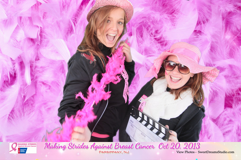 making strides against breast cancer photo booth NJ