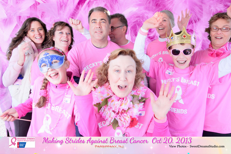 photo booth making strides against breast cancer