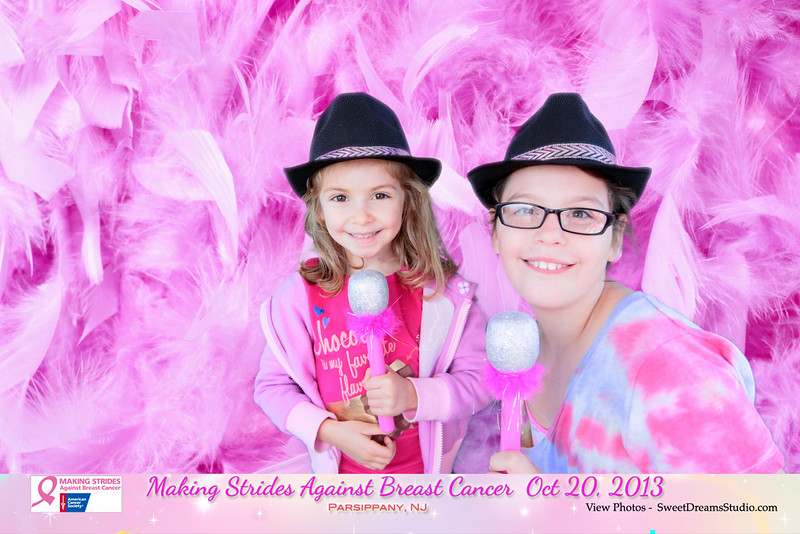 making strides against breast cancer photo booth