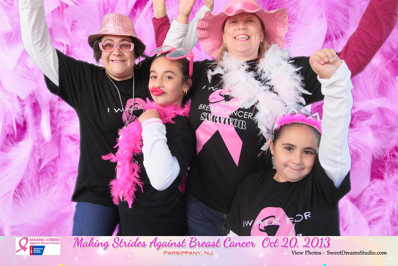 photo booth making strides against breast cancer NJ