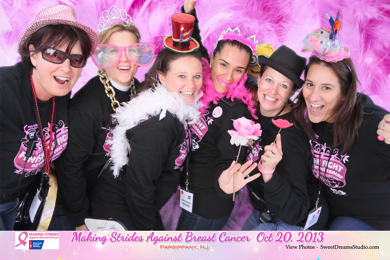 photography booth rental making strides against breast cancer