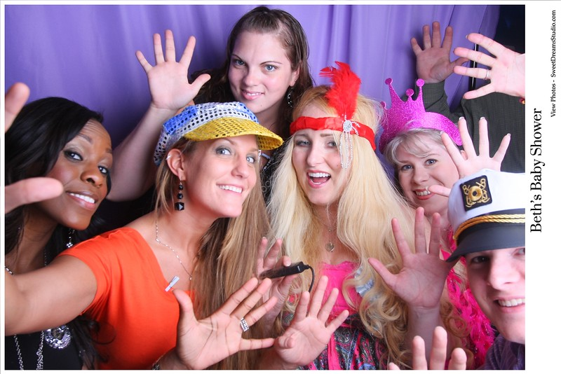 photo booth baby shower nj nyc