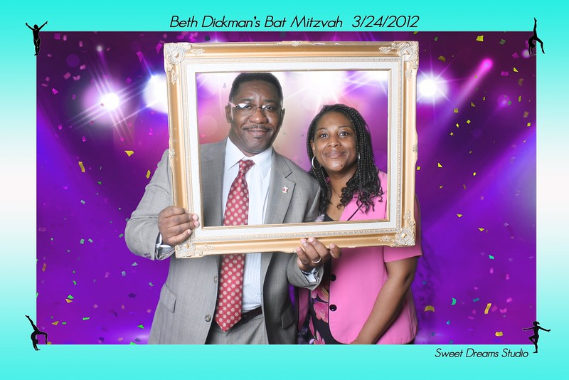 photo booth  bat mitzvah