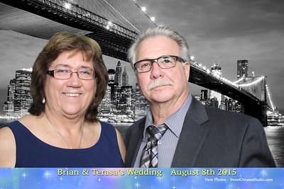 Brian Terasa Wedding