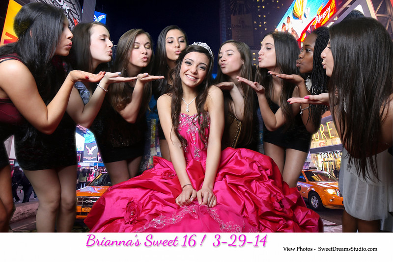 sweet 16 NJ NY photography booth