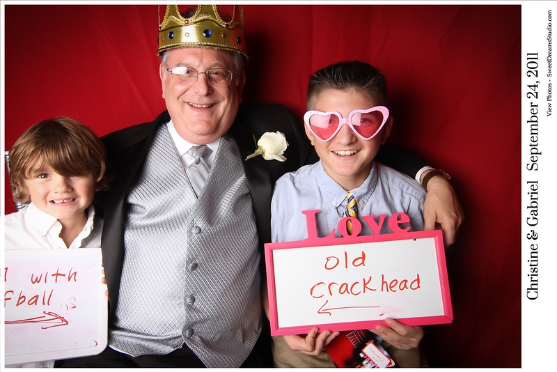 photo booth wedding